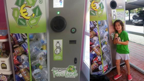 Los niños y el reciclaje