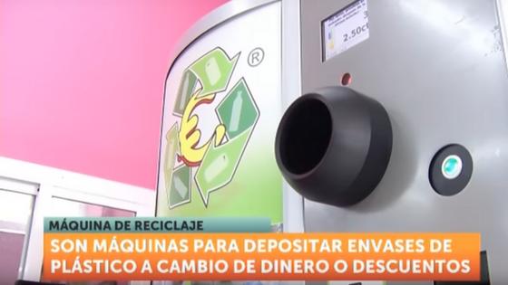 Entrevista TV regional de Murcia máquinas de reciclar