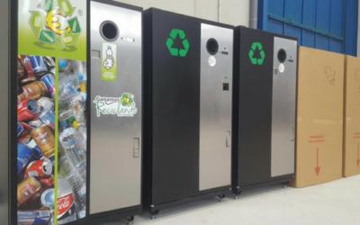 Las máquinas para reciclar envases se multiplican