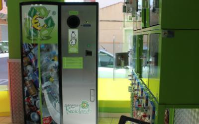 Dónde encuentro máquinas para reciclar en España