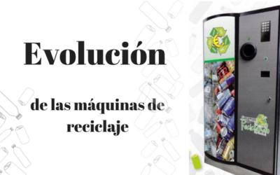 Evolución de las máquinas de reciclaje en España