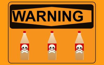 El peligro de reutilizar botellas de plástico