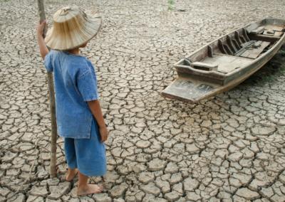 Calentamiento global. Sequías